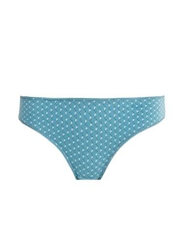 Defacto –Fit 3'lü Basic Bikini Külot Yeşil